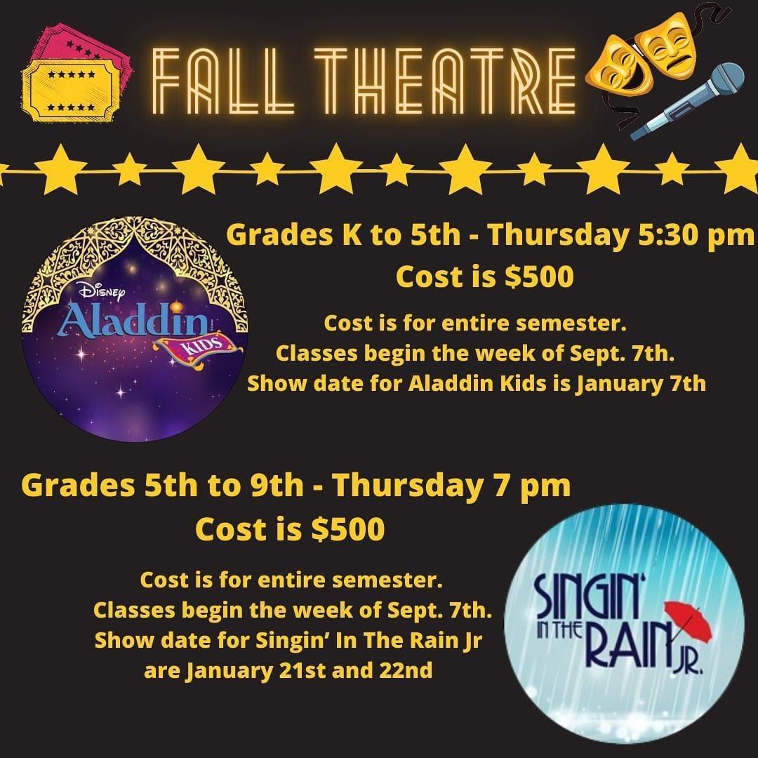 studio bleu  fall theatre
